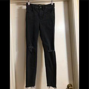 Madewell highrise skinny jean